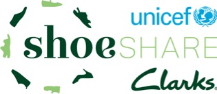 Clarks re-launches 'ShoeShare' initiative to help Unicef improve access to education for children across the world