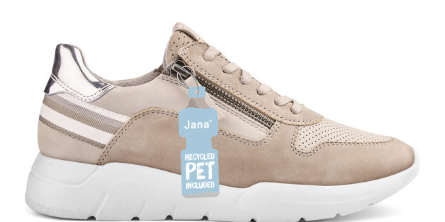 JANA SHOES LAUNCHES STYLES MADE OF RECYCLED PET BOTTLES