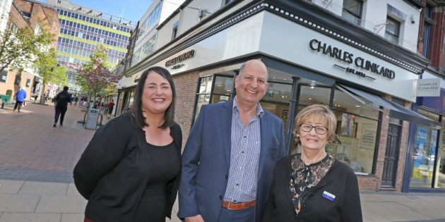 Shoe retailer puts best foot forward with store makeover