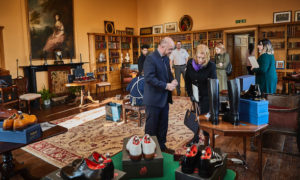 "British Footwear Association celebrates its 120th anniversary with a special shoe exhibition entitled: ""Northamptonshire's Finest"""
