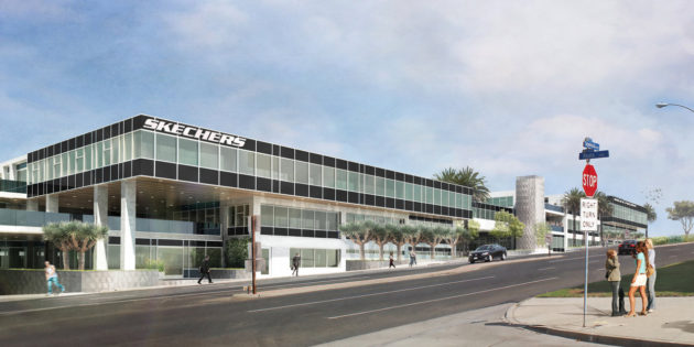 SKECHERS BREAKS GROUND ON CORPORATE HEADQUARTERS EXPANSION  New Buildings Cement Footwear Company's Commitment to Global Growth  Adding more than 175,000 Square Feet of Office, Design and Showroom Space